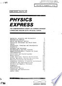 Physics Express