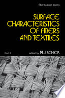 Surface Characteristics of Fibers and Textiles