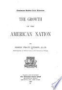 The Growth of the American Nation Book PDF