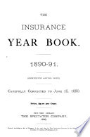 The Insurance Year Book    Book