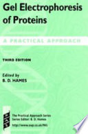 Gel Electrophoresis of Proteins Book
