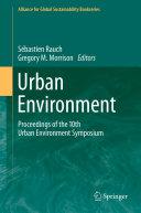 Urban Environment Pdf/ePub eBook