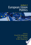 The Sage Handbook Of European Union Politics