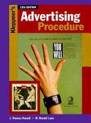 Cover of Kleppner's Advertising Procedure