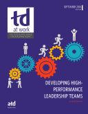 Developing High Performance Leadership Teams