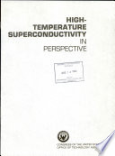 High Temperature Superconductivity In Perspective Book PDF