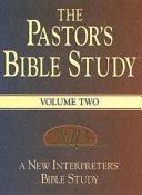 The Pastor s Bible Study