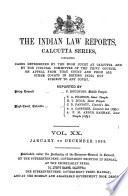 The Indian Law Reports Book PDF