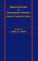 Pdf Human Factors in Information Systems Telecharger