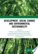 Development  Social Change and Environmental Sustainability Book