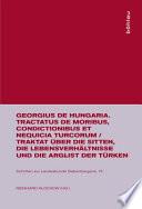 Tractatus de moribus, condictionibus et nequicia Turcorum