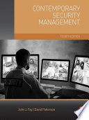 Contemporary Security Management Book