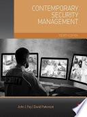 Contemporary Security Management Book