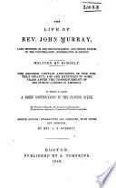 The life of Rev. John Murray...