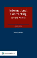 International Contracting: Law and Practice Pdf/ePub eBook