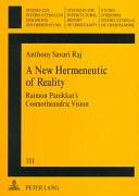 A New Hermeneutic of Reality