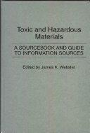 Toxic And Hazardous Materials