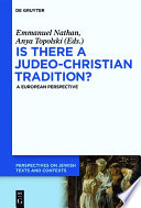 Is There A Judeo Christian Tradition