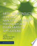Metal Semiconductor Core Shell Nanostructures For Energy And Environmental Applications Book PDF