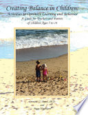 Creating Balance in Children  Activities to Optimize Learning and Behavior Book