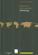 Manual of International Marketing.