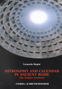 Astronomy and Calendar in Ancient Rome