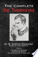 The Complete Dr. Thorndyke - Volume 1 Online Book