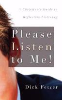 Please Listen to Me