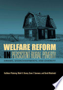 Welfare Reform In Persistent Rural Poverty Book PDF