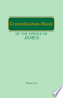 Crystallization Study Of The Epistle Of James