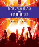 Social Psychology and Human Nature  Brief