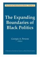 The Expanding Boundaries of Black Politics ebook