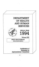 Department of the Interior and Related Agencies Appropriations for 1994