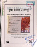 Medicine Bow-Routt National Forests (N.F.), Bark Beetle Analysis