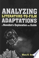 Analyzing Literature to Film Adaptations Book
