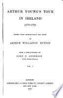 Arthur Young s Tour in Ireland  1776 1779
