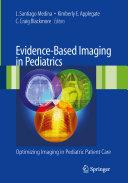 Evidence Based Imaging in Pediatrics Book