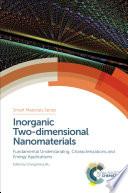 Inorganic Two dimensional Nanomaterials