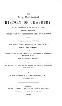The Early Ecclesiastical History of Dewsbury in the West Riding of the County of York