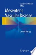 Mesenteric Vascular Disease