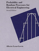 Probability And Random Processes For Electrical Engineering Book PDF