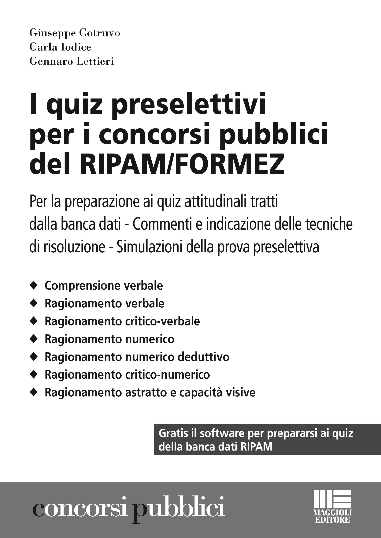 I quiz preselettivi per i concorsi pubblici del ripam formez
