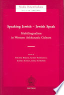 Speaking Jewish - Jewish Speak
