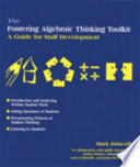 The Fostering Algebraic Thinking Toolkit: Asking questions of students