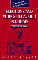 Elections and Voting Behavior in Britain