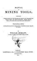 Manual of Mining Tools