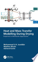 Heat and Mass Transfer Modelling During Drying