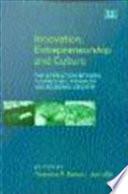 Innovation Entrepreneurship And Culture Book PDF