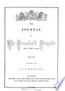 The Journal of the Household Brigade for the Year 1862 1880