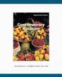 Contemporary Nutrition  6 e UPDATE